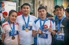 Дистанция 21 км на VI Алматы Марафон - 2017